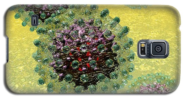 Hepatitis B Virus Particles Galaxy S5 Case