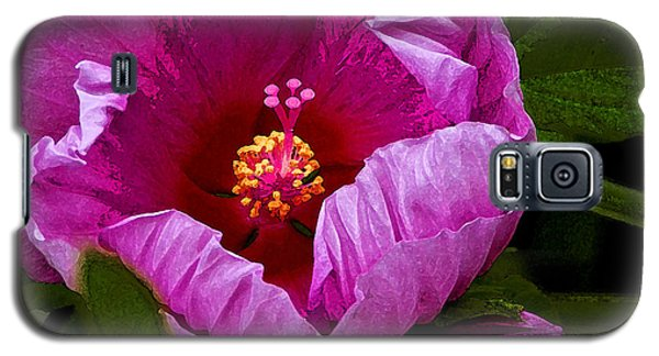 Galaxy S5 Case featuring the photograph Hibiscus II by Michael Friedman