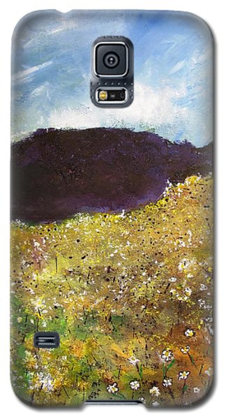 High Field Of Flowers Galaxy S5 Case