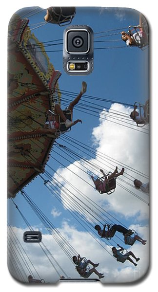 High In The Sky Galaxy S5 Case by Nancy Dole McGuigan