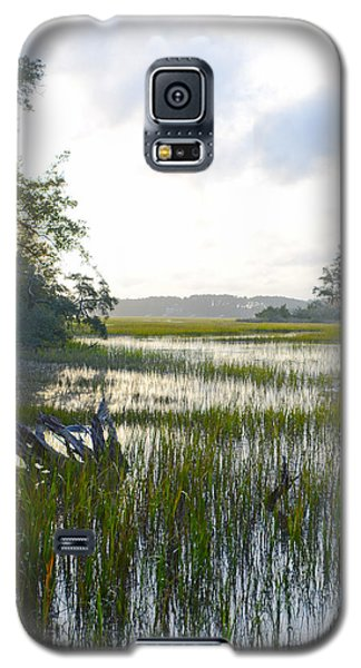 Galaxy S5 Case featuring the photograph High Tide by Margaret Palmer