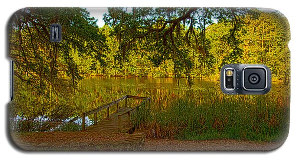 Hobcaw Barony Pond Galaxy S5 Case by Bill Barber