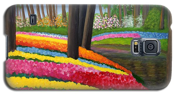 Holland Gardens Galaxy S5 Case by Janet Greer Sammons