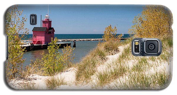 Holland Mi Lighthouse Galaxy S5 Case by Larry Carr