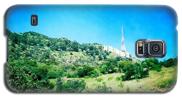 Galaxy S5 Case featuring the photograph Hollywood by Nina Prommer