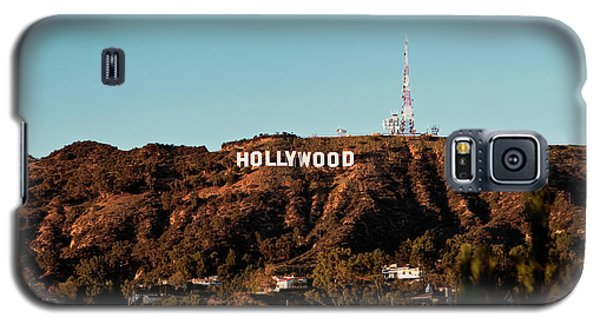 Hollywood Sign At Sunset Galaxy S5 Case