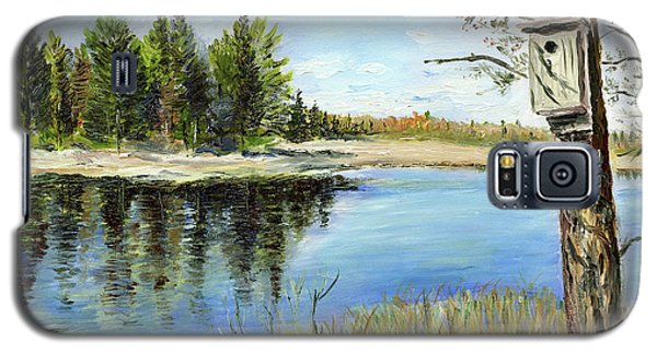 Home At Dragonfly Pond Galaxy S5 Case
