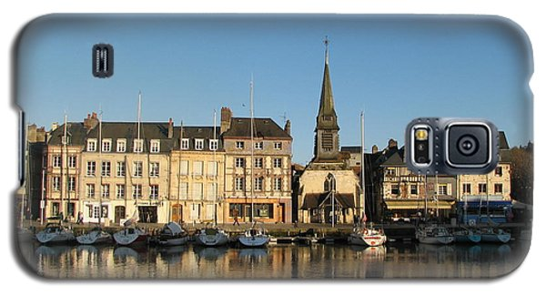Galaxy S5 Case featuring the photograph Honfleur  by Carla Parris