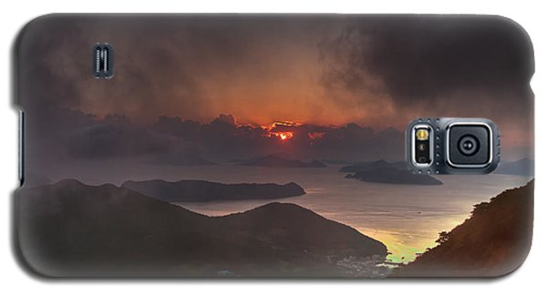 Hongpo Sunset South Korea  Galaxy S5 Case