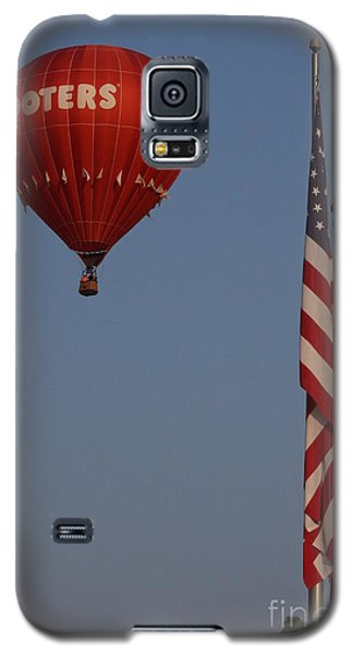 Hooters American Flag Galaxy S5 Case by Jerry Bunger