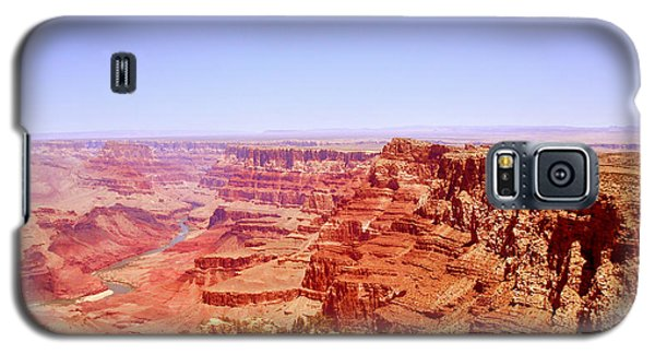 Galaxy S5 Case featuring the photograph horizon in Grand Canyon by Rima Biswas
