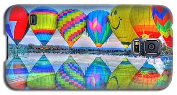 Hot Air Balloons At Eden Park Galaxy S5 Case