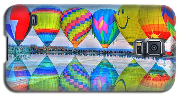 Hot Air Balloons At Eden Park Galaxy S5 Case