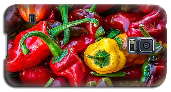 Galaxy S5 Case featuring the photograph Hot Pepper Time by Ken Stanback