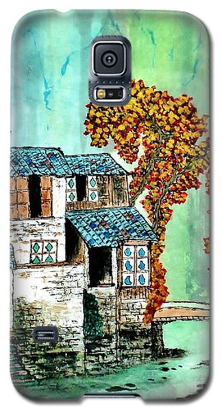 House By The River Galaxy S5 Case by Katy Mei