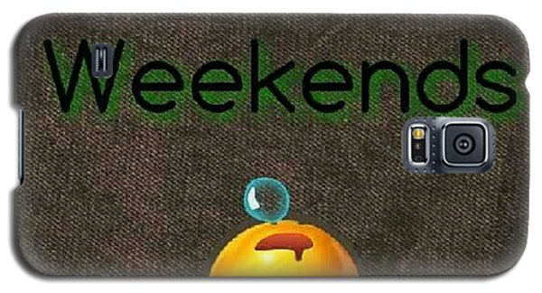 Funny Galaxy S5 Case - How I Spend Weekends #jo #amman #jordan by Abdelrahman Alawwad