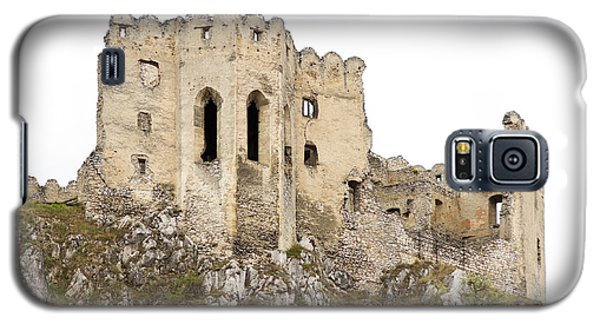 Galaxy S5 Case featuring the photograph Hrad Beckov Castle by Les Palenik