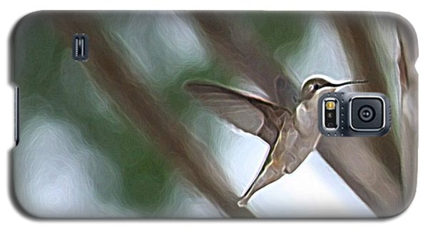 Galaxy S5 Case featuring the photograph Hummingbird by Donna  Smith