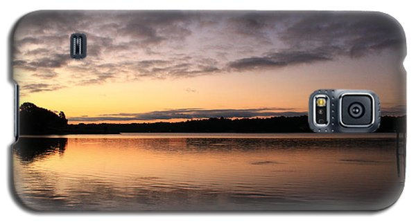 Hungry Fish At Sunrise Galaxy S5 Case