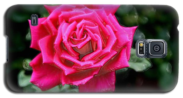 Galaxy S5 Case featuring the photograph I Am A Beautiful Rose  I Am Who I Am by Sherri  Of Palm Springs