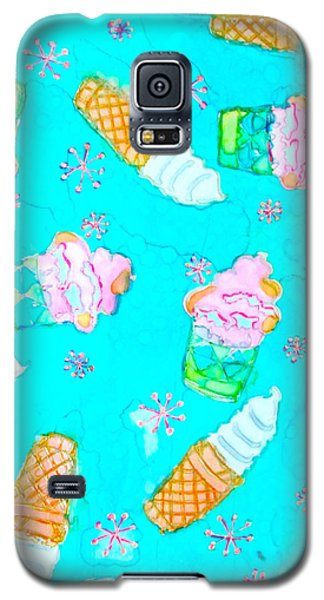 Ice Cream I Scream Galaxy S5 Case by Beth Saffer