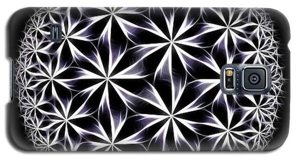 Ice Flowers Galaxy S5 Case by Danuta Bennett