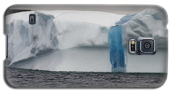Galaxy S5 Case featuring the photograph Iceberg by Eunice Gibb