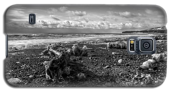 Galaxy S5 Case featuring the photograph Icy Alaskan Beach by Michele Cornelius