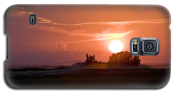 Idaho Sunset Galaxy S5 Case