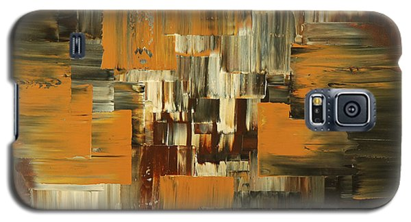 Galaxy S5 Case featuring the painting Ideas Evolve by Tatiana Iliina