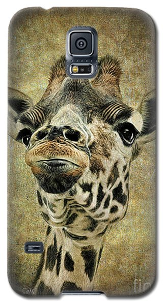 Galaxy S5 Case featuring the photograph If You've Got It...flaunt It by Sami Martin