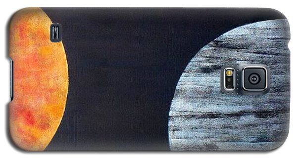 Galaxy S5 Case featuring the painting Illumination by Barbara Moignard