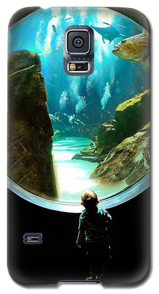 Galaxy S5 Case featuring the photograph Imagination by Anna Rumiantseva