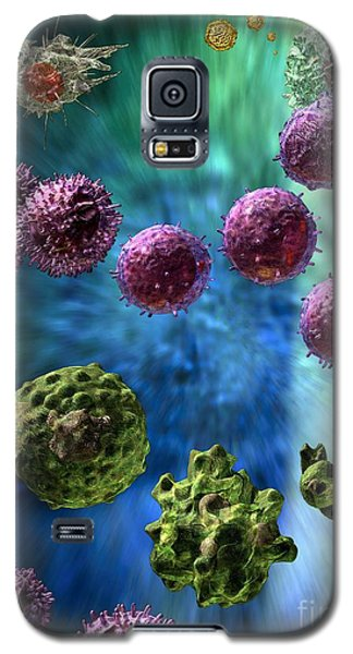 Immune Response Cytotoxic 3 Galaxy S5 Case