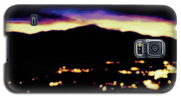 Impressionistic Pikes Peak Galaxy S5 Case by Clarice  Lakota