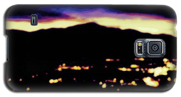 Impressionistic Pikes Peak Galaxy S5 Case by Clarice  Lakota
