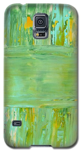 Galaxy S5 Case featuring the painting Impulse by Kathy Sheeran