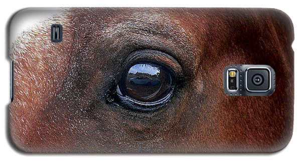 Galaxy S5 Case featuring the photograph In His Sight by EricaMaxine  Price