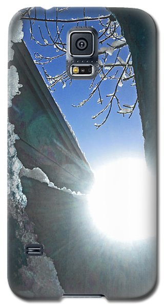 Galaxy S5 Case featuring the photograph In The Cold Of The Sun by Steve Taylor