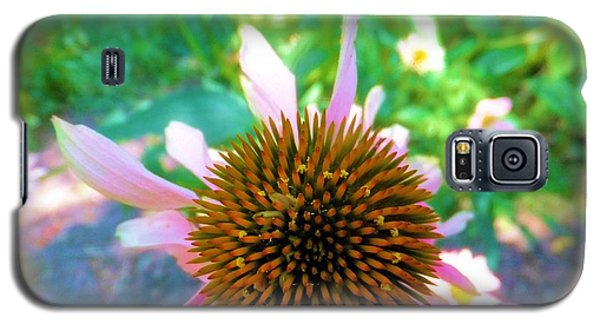 Galaxy S5 Case featuring the photograph In The Pink by Carolyn Repka