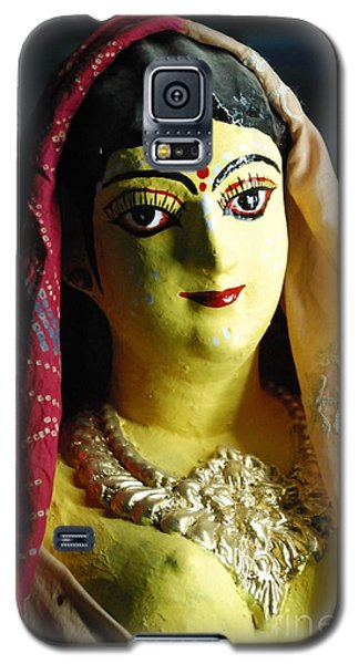 Galaxy S5 Case featuring the photograph Indian Beauty by Fotosas Photography