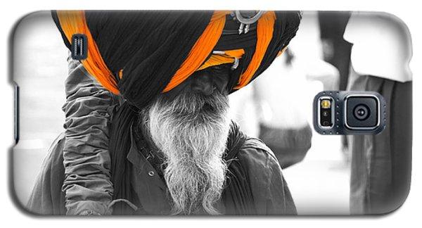 Indian Man Wearing Turban Galaxy S5 Case