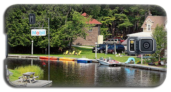 Galaxy S5 Case featuring the photograph Inlet On Seven Lakes by Ann Murphy