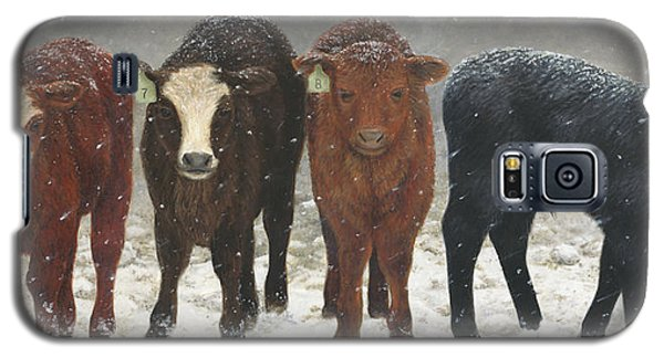 Inquisitive Calves Galaxy S5 Case