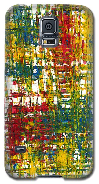 Galaxy S5 Case featuring the painting Inside My Garden II 162.110411  by Kris Haas