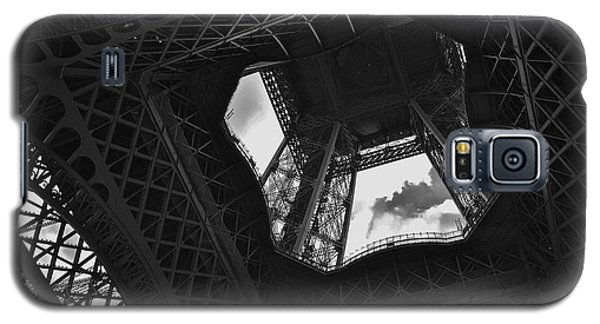 Galaxy S5 Case featuring the photograph Inside The Eiffel Tower by Eric Tressler