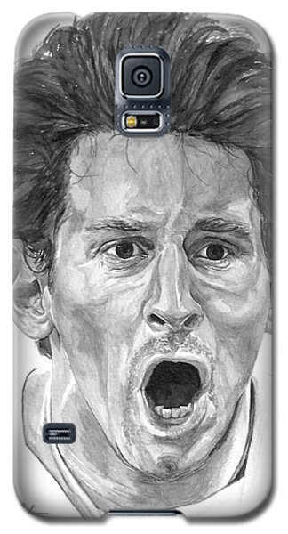 Intensity Lionel Messi Galaxy S5 Case by Tamir Barkan