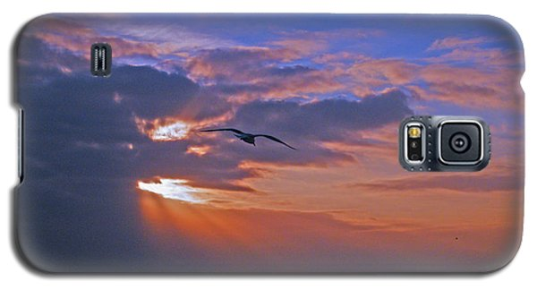 Galaxy S5 Case featuring the photograph Into The Misty Morning Sun by Brian Wright