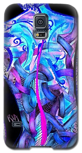 Nudes Galaxy S5 Case - Intricate Woman by RiA RiA