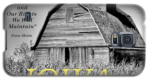 Galaxy S5 Case featuring the photograph Iowa Pride by Lin Haring